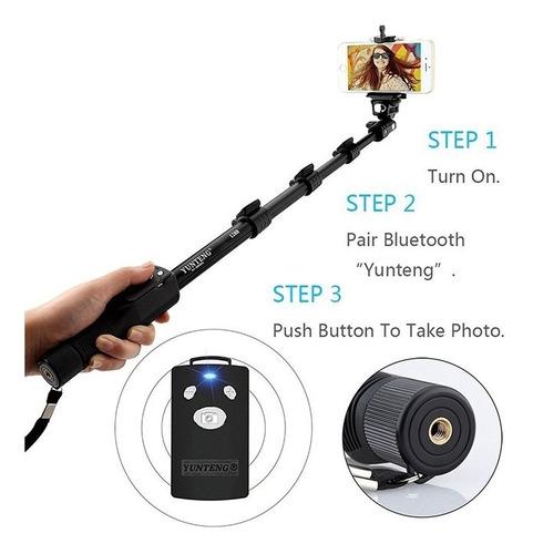 tripe para celular bluetooth fotografico com controle 1,85m