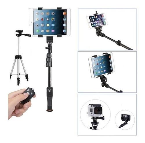 tripe para celular bluetooth selfie instagram youtube 2 em 1