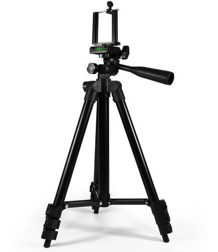 tripé para câmera celular gopro iphone extensível 1,02 mts