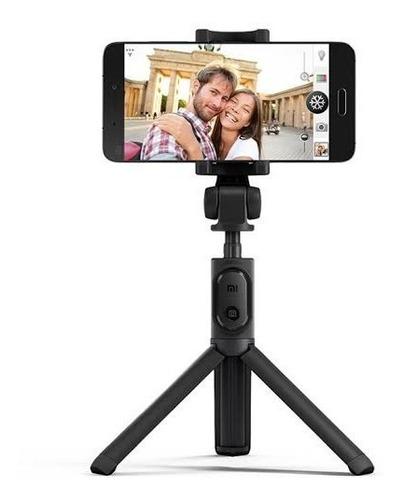 tripé pau de selfie xiaomi stick controle bluetooth iphone