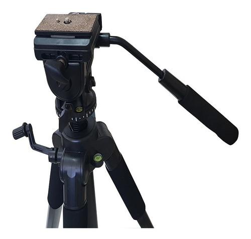 tripe profissional cabeça semi hidraulica  video foto tm6880