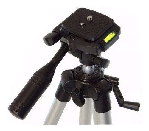 tripé profissional câmera fotográfica pedestal suporte fotos