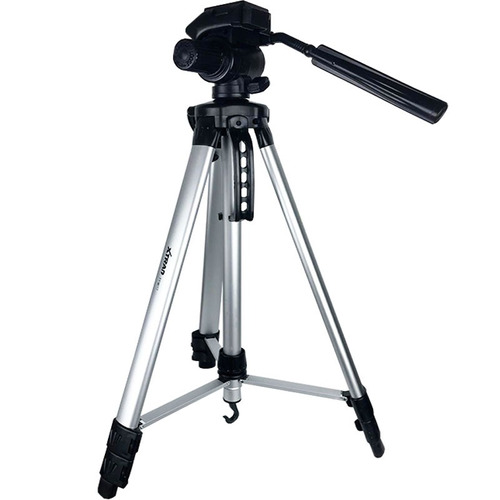 tripé profissional para cameras 1,6 metros 360º bolsa ff0017