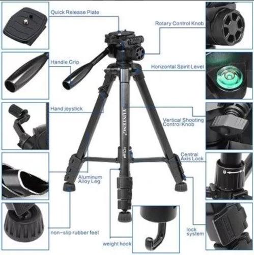 tripe profissional para cameras canon nikon sonyfrete gratis