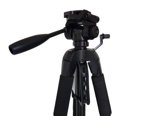 tripe profissional semi hidraulica 180cm video foto + sp cel