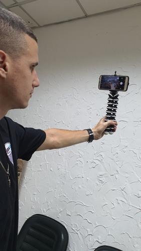 tripé tipo gorillapod 23 centímetros câmeras e celulares