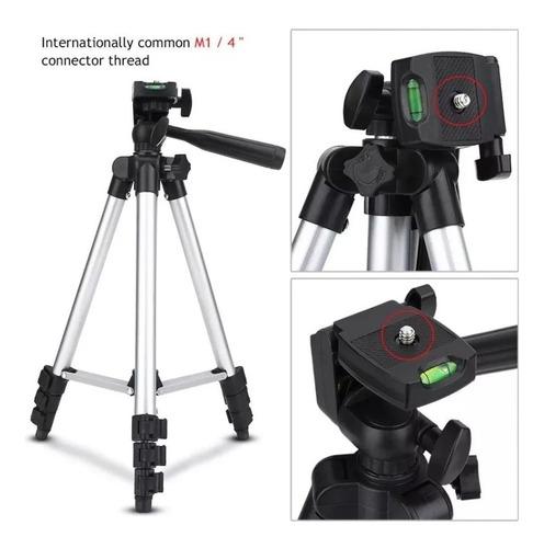 tripé universal 3110 telescópico para câmera celular 1,02 m