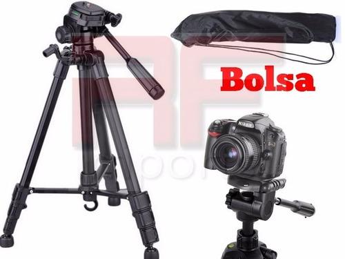 tripé universal fotográfico profissional canon nikon 1.80 mt