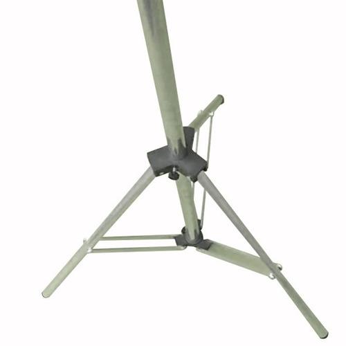 tripé,pedestal, suporte para telas de projeção 2,5m fabrica
