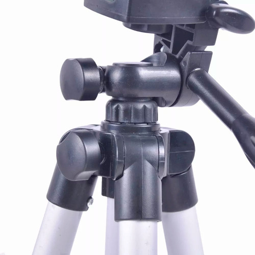 tripie aluminio cámaras android o iphone 100 cms + soporte