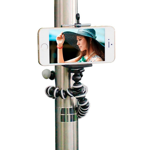 tripie flexible gorillapod camara y celular universal 28 cm