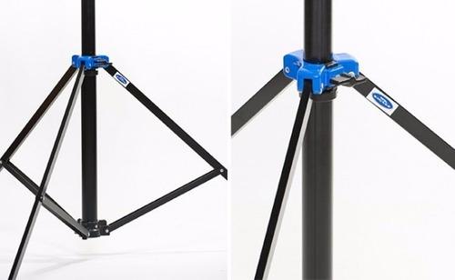 tripie lightstand dropstand automatico 2.10m iluminacion