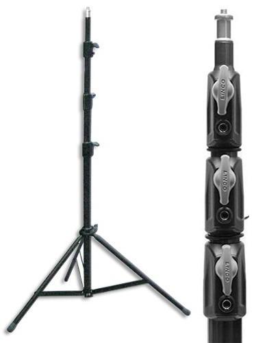 tripie lightstand linco de 3m altura profesional