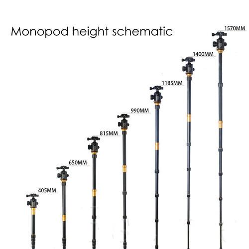 tripie monopie profesional de aluminio y magnesio q666