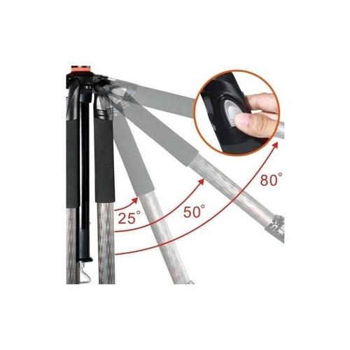 tripie vanguard abeo pro 283cgh fibra carbon c/ cabezal hm4