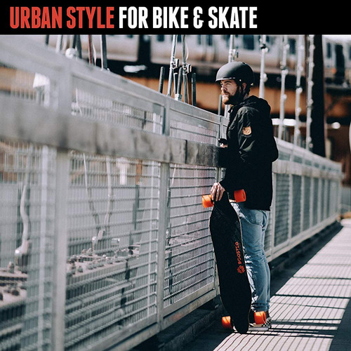 triple eight gotham dual certified skateboard y casco de bic
