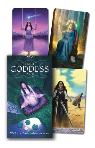 triple goddess tarot, tarot triple diosa