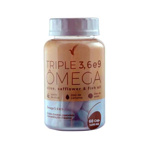 triple ômega eleve cártamo oliva e peixe tratamento 1 mês