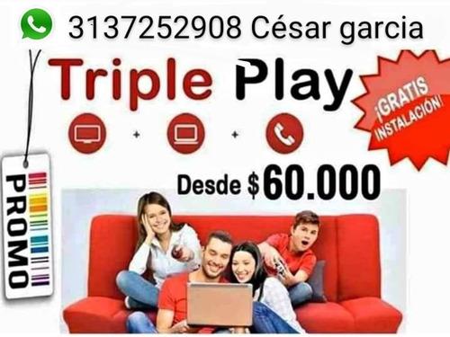 triple play hogar claro