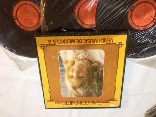 triples ray conniff album 3 discos  edicion mexcana