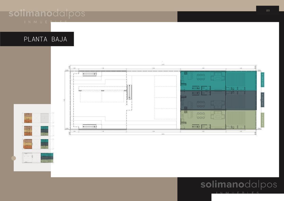 triplex 3 amb con terraza propia - olivos