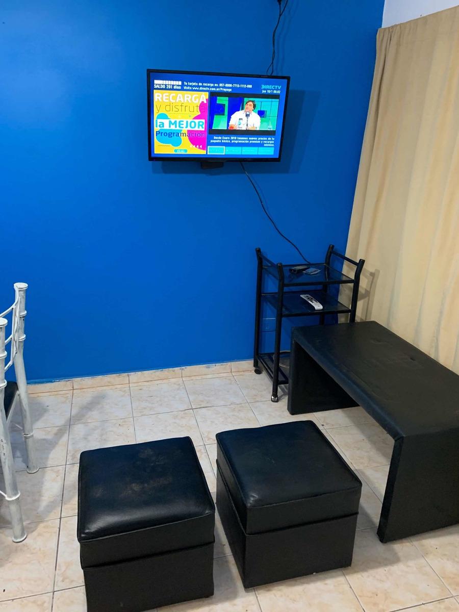 triplex 3 ambientes 100 mts de playa y excelente para 7 pers