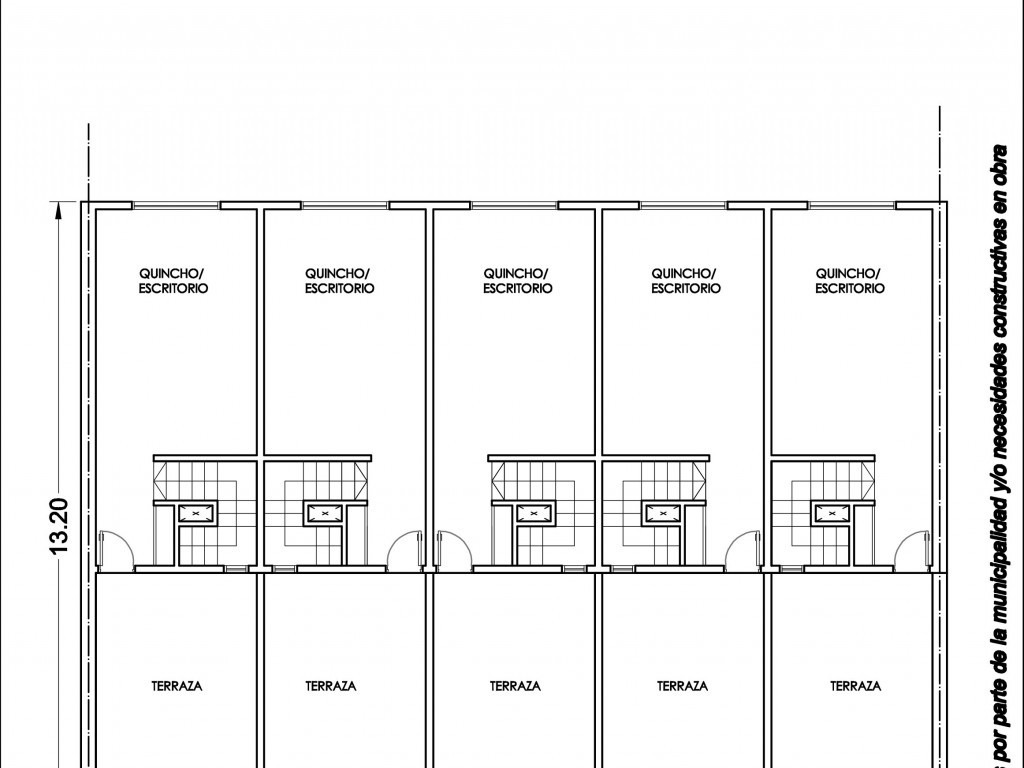 triplex 4 ambientes a estrenar en construccion