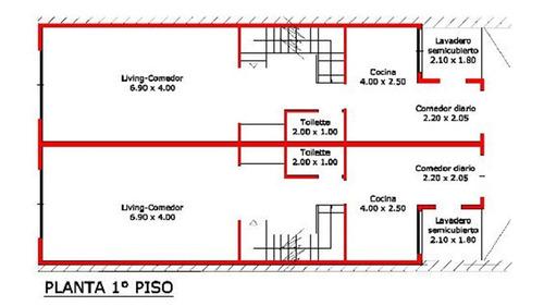triplex 4 ambientes con cochera y terraza