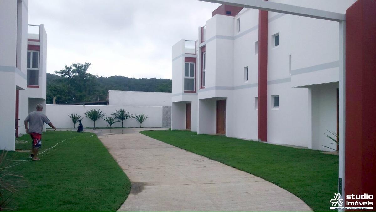triplex com solarium na praia da massaguaçu - casa com 03 dormitórios, sendo 01 suíte! - 1282 - 2613512