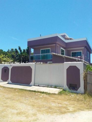 triplex para venda em rio das ostras, jardim bela vista, 4 dormitórios, 4 suítes, 5 banheiros, 2 vagas - amc2359