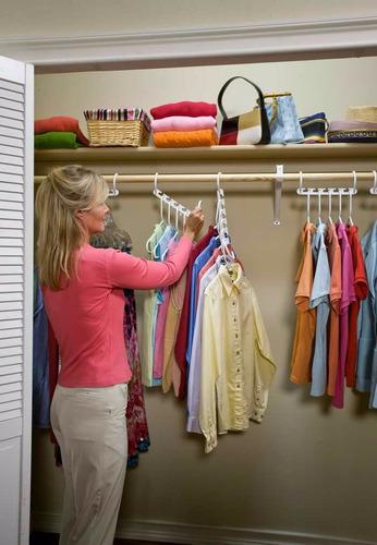 triplique o seu armário cabide organizador roupas bolsas