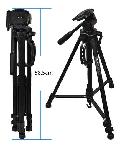 trípode 3560 1.7mts fotografia y video para canon t3i t5i t6