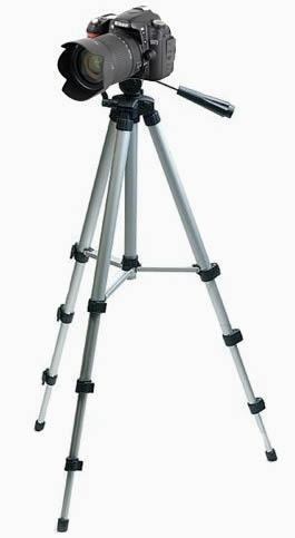 trípode alto para cámaras y celulares 100 cm | maxtech