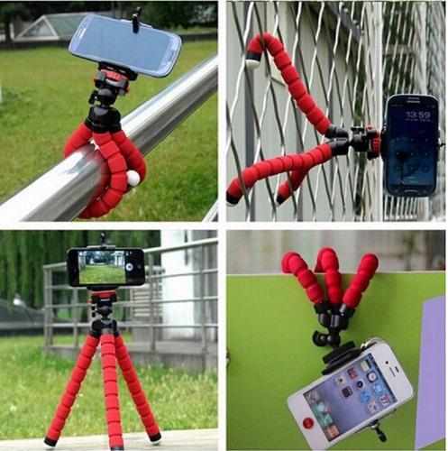 tripode araña universal iphone camara lumix samsung sony