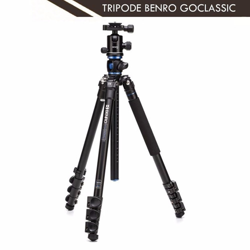 tripode benro ga158fb1 goclassic con cabezal b1