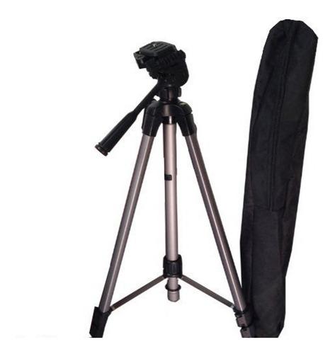 tripode beston 3512a para camara y celular+ estuche - 116cm.