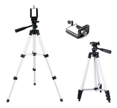 trípode cámara celular de aluminio extensible / lhua store