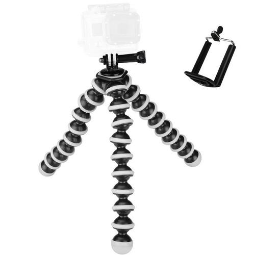 tripode camara profesional araña pulpo flexible celular niko