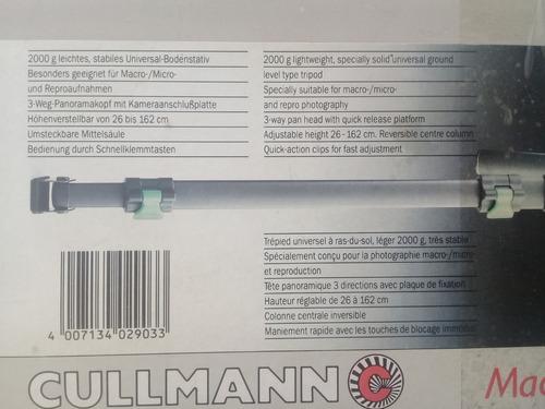 tripode camara profesional cullmann 2903