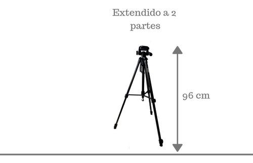 tripode camara reflex deluxe sl3600 + estuche gratis