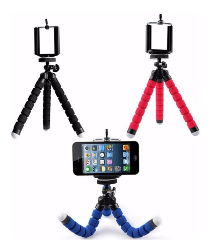 tripode celular selfie flexible colores - nice home