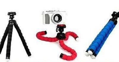 tripode celular tripode fotografia octopus flexible belgrano
