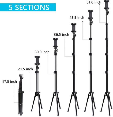tripode celulares control bluetooth 130cm nuevo...!! usa