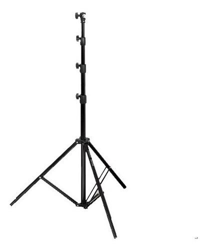 trípode columna pie soporte p/ flash iluminador 2,47m visico
