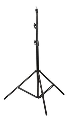 trípode columna pie soporte p/ flash iluminador 2,85m visico