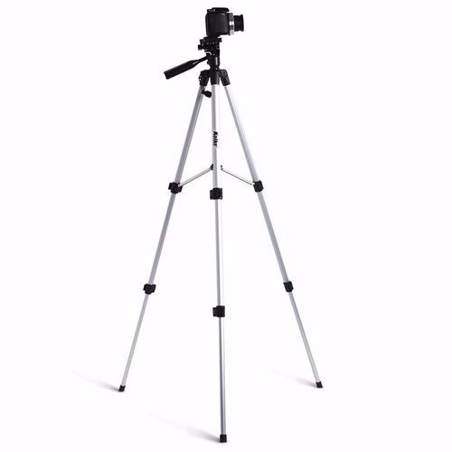 trípode de aluminio kolke 1.35m para cámaras y filmadoras