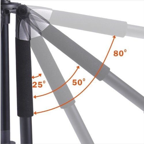trípode de aluminio vanguard alta pro 263at