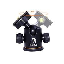 tripode de cámara beike bk-03 placa 1/4 cabezal de bola