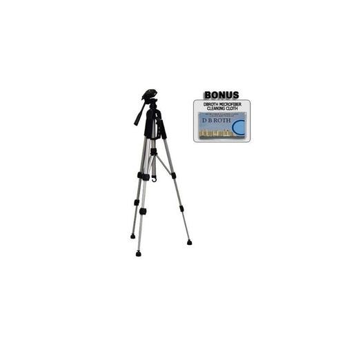 trípode de cámara deluxe 57 con estuche para las cámaras réf