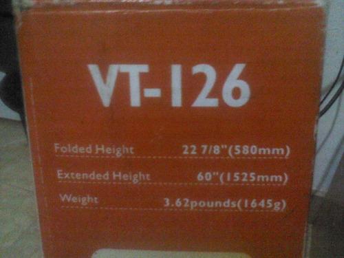 tripode de camara y video vanguard vt-126 nuevo con forro